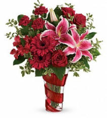 Swirling Desire Bouquet From Roma Florist