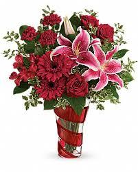 Swirling Desire Bouquet Valentine's Day