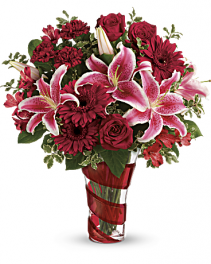 Swirling Desire Valentine Bouquet
