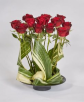 Swirling Valentine Roses