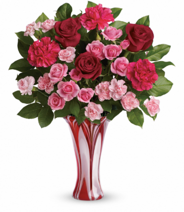 Swirls Of Love Bouquet All-Around Floral Arrangement