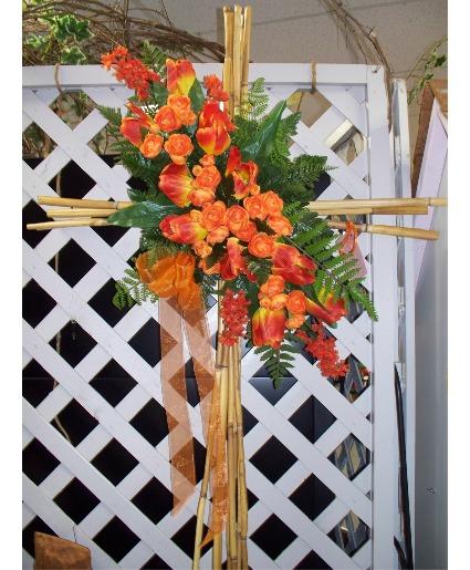 Sympathy cane silk cross in cabot ar petals plants inc sympathy cane silk cross mightylinksfo