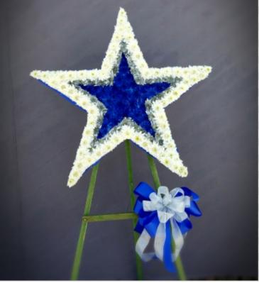 Star Standing Wreath