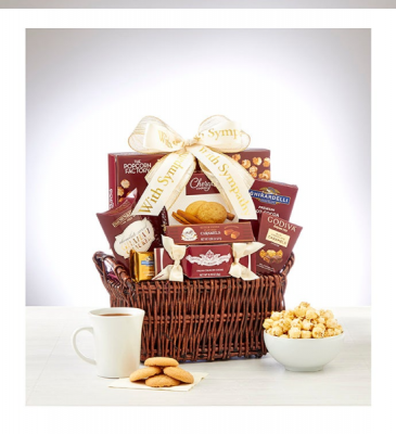 Sympathy And Support Basket