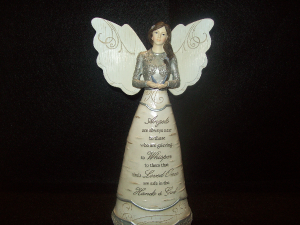 Sympathy Angel  in Hiawatha, KS | MAINSTREET FLOWER SHOPPE
