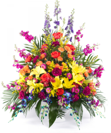 Funeral Flowers Symphony of Love
