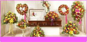 Sympathy Arrangements Colorful Sympathy Arrangements in Mokena, IL | An English Garden Flowers & Gifts
