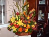 Sympathy Basket 0990 Funeral Basket