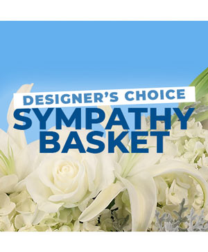Sympathy Basket Designer's Choice in Port Stanley, ON   Flowers By Rosita