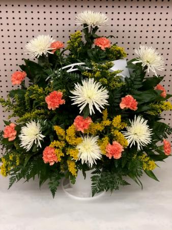 Sympathy Basket Funeral Basket In Jacksonville Fl Dinsmore Florist Inc