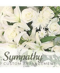 Sympathy Custom Arrangement  Designer's Choice