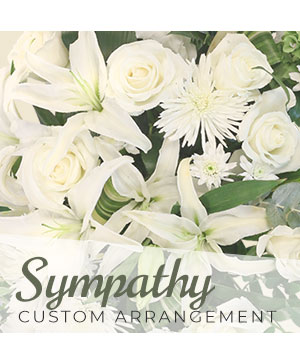 Sympathy Custom Arrangement   in Dawsonville, GA | The Flower Mart