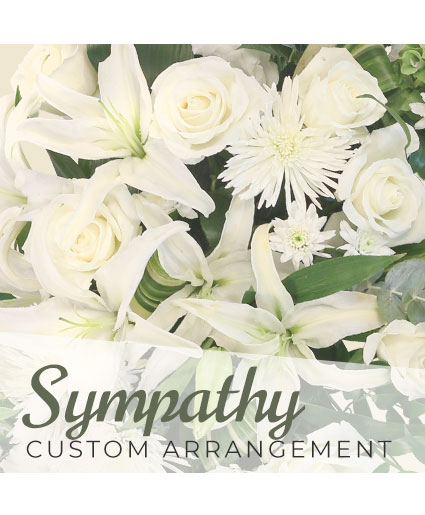Sympathy Custom Arrangement  Designer's Choice