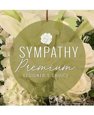 Sympathy Florals Premium Designer's Choice in Castle Pines, CO | THE FLOWER SHOP CASTLE PINES