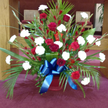 Sympathy for your loved ones Patriotic red white and blue