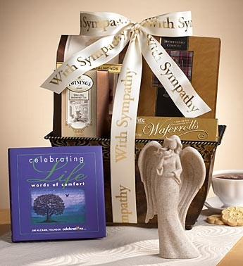 Sympathy Gift Basket Gourmet Gift Basket