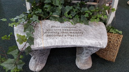 Sympathy Gifts Stone Rememberance Benches