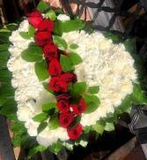 Sympathy Heart Funeral Flowers