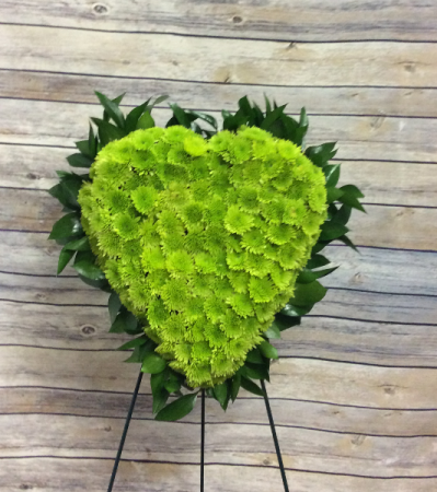 Sympathy Heart (Green)