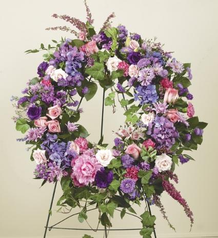 Sympathy Medley Funeral Wreath