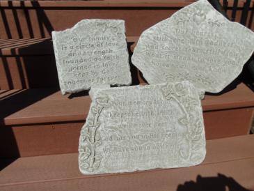 Sympathy memorial stones Sympathy