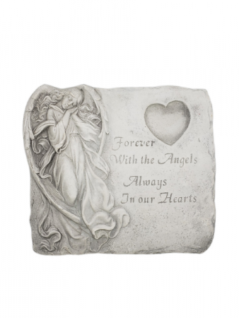 Sympathy Plaque - Forever With The Angels