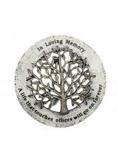 Sympathy Plaque - In Loving Memory Tree