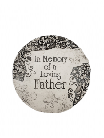 Sympathy Plaque - In Memory of a Loving Father