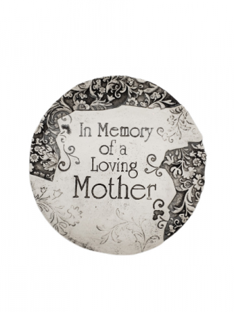 Sympathy Plaque - In Memory of a Loving Mother