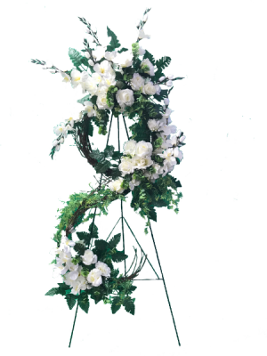 Elegant Silk  Sympathy Spray in West Monroe, LA | ALL OCCASIONS FLOWERS AND GIFTS