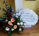 Sympathy Stone and Arrangement