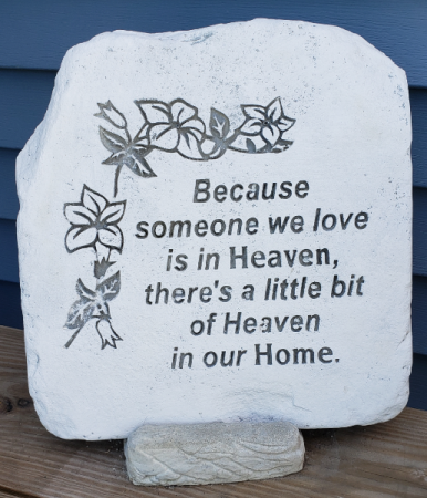 Heaven In Our Home Sympathy Stone