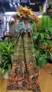 Sympathy Throw Blankets Funeral Spray in Brandon, FL | WHIDDEN FLORIST
