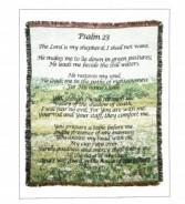 Psalms 23 Sympathy Throw  To Go Home