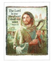 The Lord is my Shepherd Sympathy Throw To Take Home