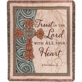 Sympathy Throws    Scriptural verses available