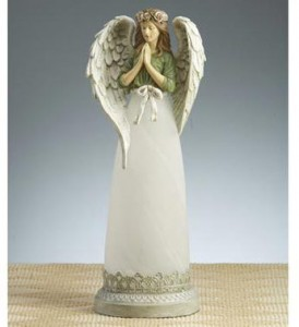 Sympathy Tribute Angel Lamp in Du Bois, PA | BRADY STREET FLORIST