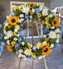 Brighter Times Wreath