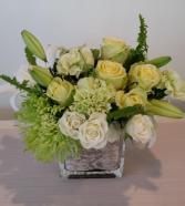 Symphonia verde Flower arrangement