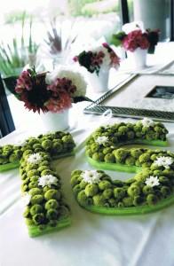 T & S Wedding Reception flowers