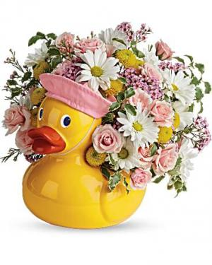 TNB11-A SWEET LITTLE DUCKY  in Beaufort, SC | CAROLINA FLORAL DESIGN