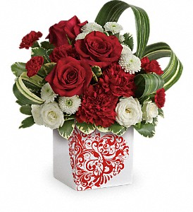 T16V405A Teleflora's Cherished Love Bouquet