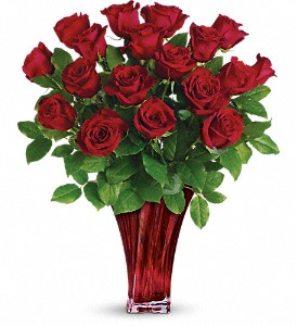 Roses  Legendary Love 18 Rose Bouquet   18 OR 24