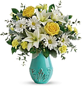 T19E100A Teleflora's Aqua Dream Bouquet