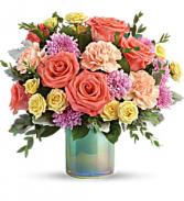T19E305BTeleflora's Pastel Shimmer Bouquet DX