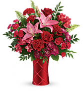 T19V105A Teleflora's Satin Kisses Bouquet