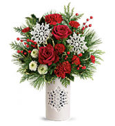 T19X300A Teleflora's Flurry Of Elegance Bouquet