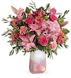 T20V205A Teleflora's Blushing Gemstone Bouquet