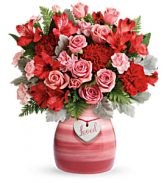 T20V300B Teleflora's Playfully Pink Bouquet DX