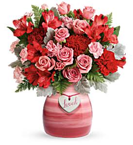 T20V300B Teleflora's Playfully Pink Bouquet DX